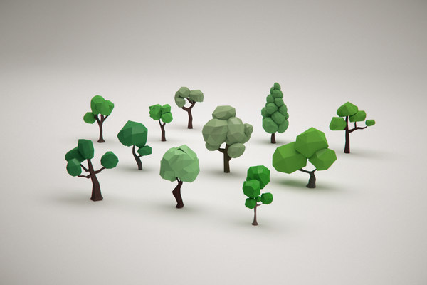 tree forest pack 3D model