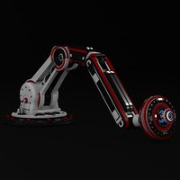 robotic arm model