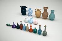 Potions Bottles and Vases Bundle