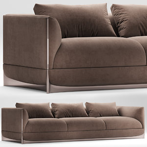 sofas seat furniture 3D model
