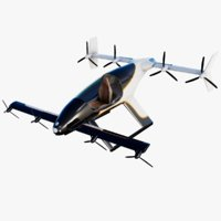 Flying Taxi Airbus Vahana Electric VTOL