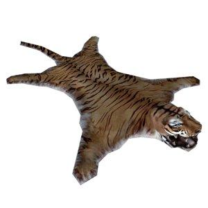 tiger carpet 3D model