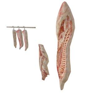 pork 3D model