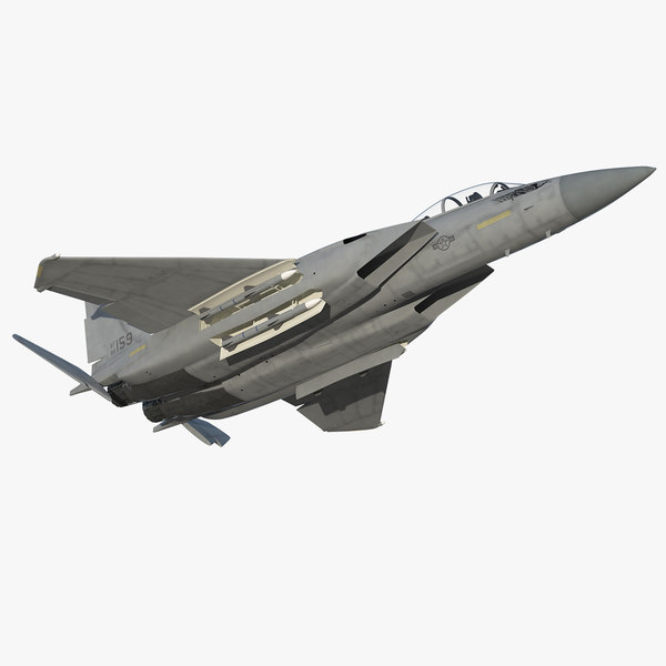 3D f-15 silent eagle rigged