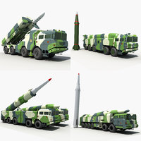 china missile 3D