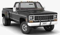 GENERIC 4WD DUALLY PICKUP TRUCK 8