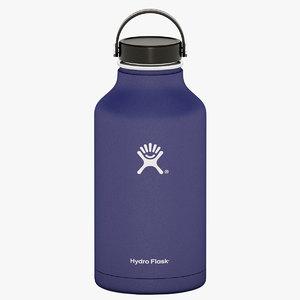 3D 64 oz hydro flask