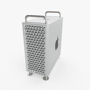 3D model apple mac pro 2019