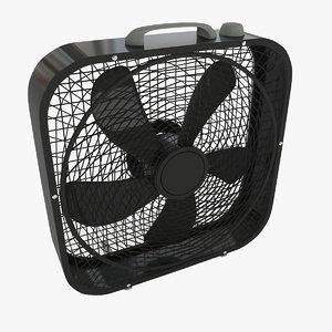 3D box fan