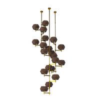 3D novecento chandelier modern