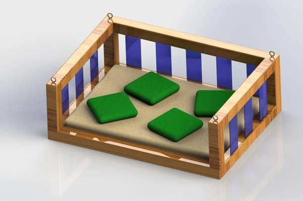 3D swing bed