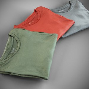 scanned t-shirts 3D