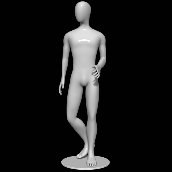 mannequin man male 3D model