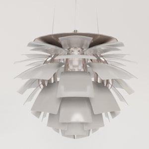 3D louis poulsens ph artichoke
