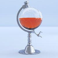globe decanter 3D