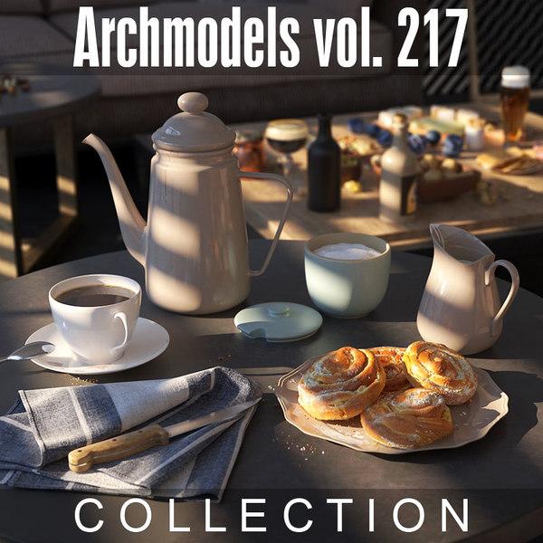 3D archmodels vol 217
