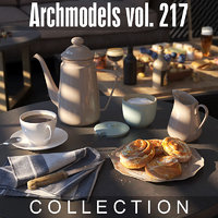 3D archmodels vol 217