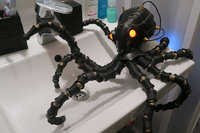 3D Printable Cyber Octopus