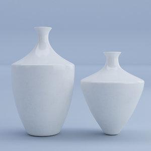 ceramic vases model