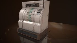 cash register model