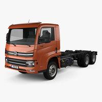 3D model volkswagen delivery 13