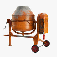 Portable Concrete Mixer(1)