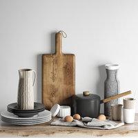 3D kitchen decoration set