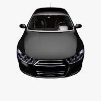 realistic car 3D model
