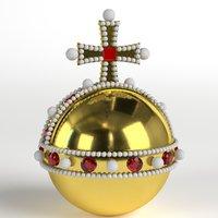 royal orb 3D model