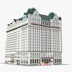 plaza hotel new york 3D model