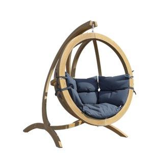 3D garden swing globo chair