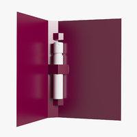 3D parfum sample model