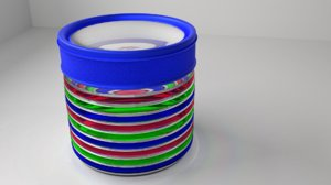 food canister 1 - 3D model