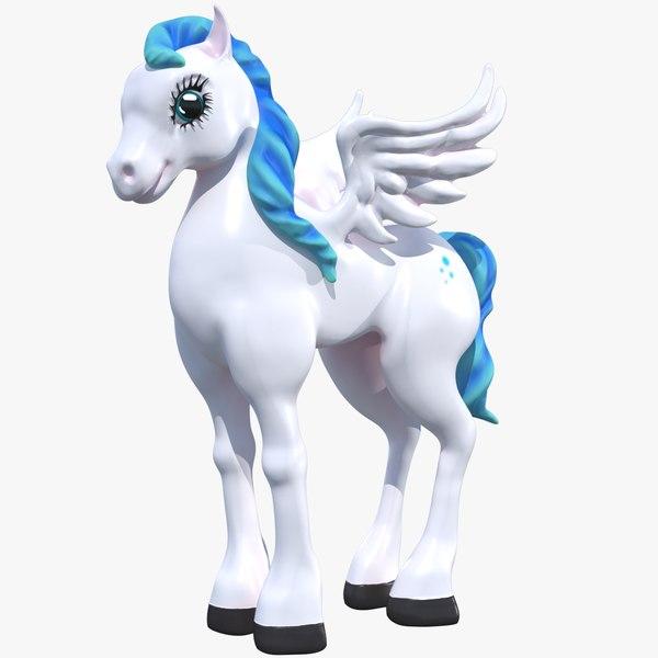 cartoon pony model