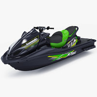kawasaki jet ski ultra 3D model