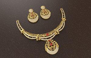 3D model indian bridal necklace