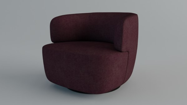3D molteni chairs