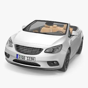 3D model cabriolet generic