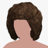 hairstyle 32 hair 3D model