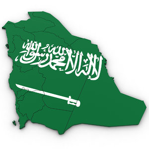 3D saudi arabia model