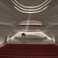 hall interior 3D