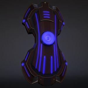 3D shield armor