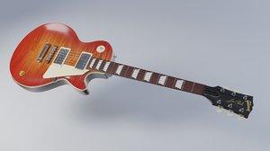 3D les paul guitar