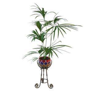 3D model palm pot