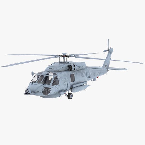 3D seahawk helicopter australian navy