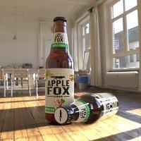 3D model apple fox