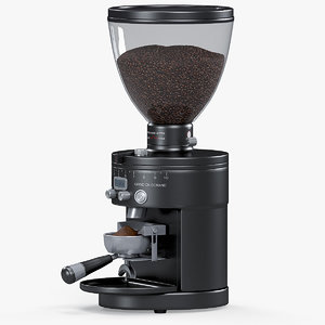 3D single espresso coffee grinder model