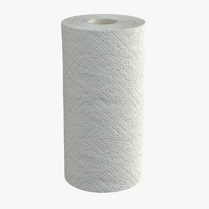 3D model paper towel