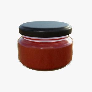 jar sauce 3D model