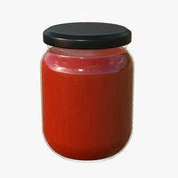 jar sauce model